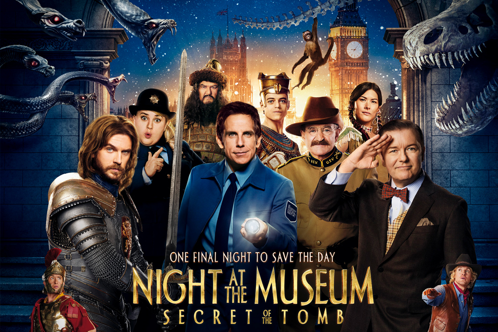 Night at the Museum: Secret of the Tomb (2015)