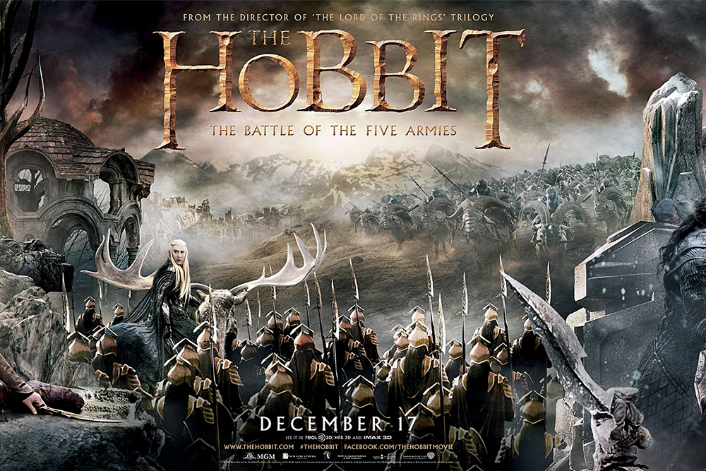 The Hobbit: The Battle of the Five Armies (2015) iPad Movie