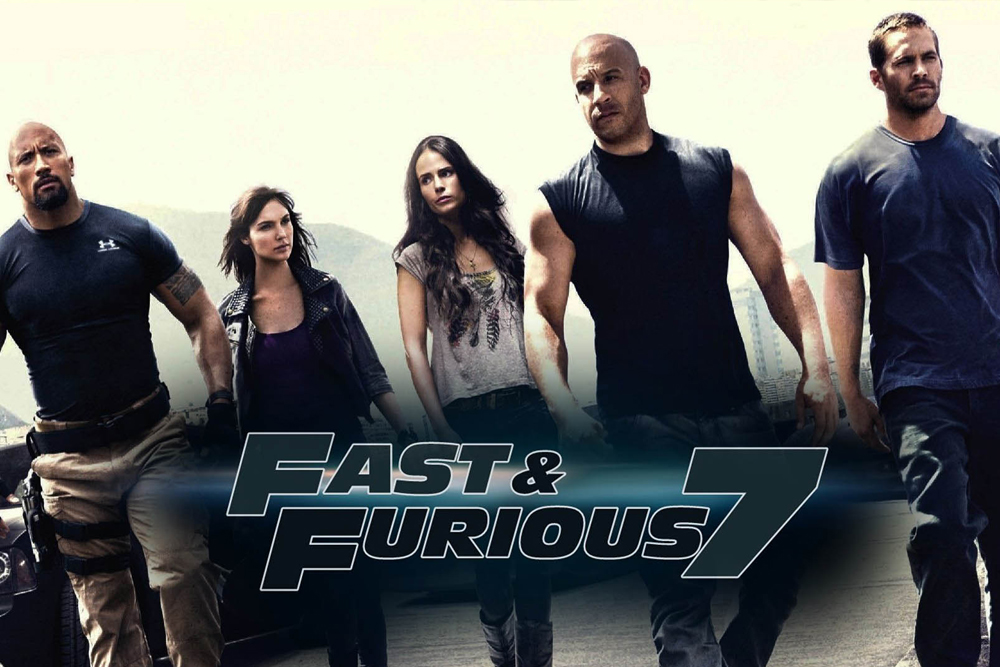 Fast & Furious Furious 7 (2015) iPad Movie